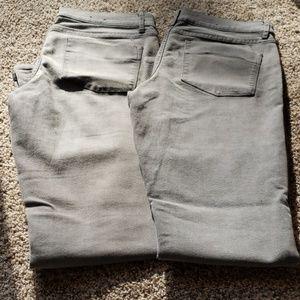 Mossimo leggings- dove grey (2)